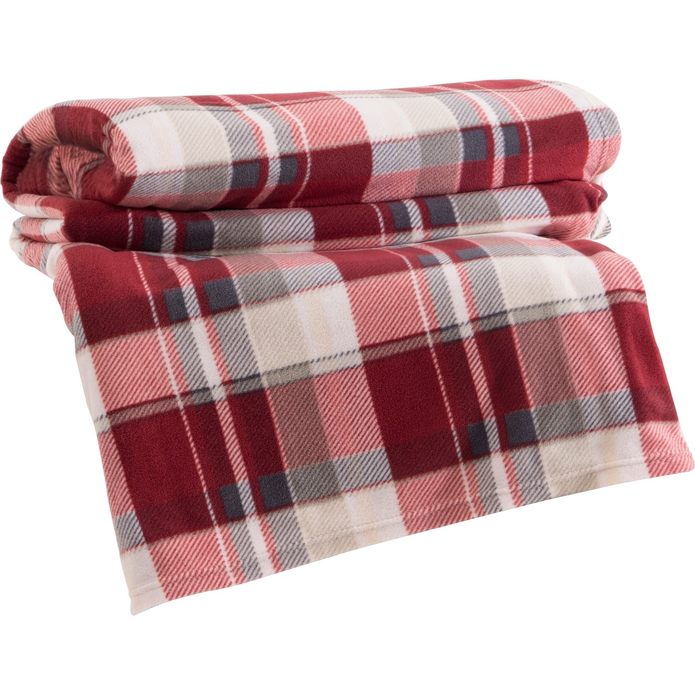 O cobertor fleece Maison Piacenza, da marca Corttex Casa, é confeccionado em microfibra de poliéster. A peça está à venda na Americanas.com (www.americanas.com.br) I Outras informações podem ser obtidas com o fornecedor
