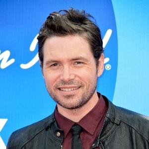 """16.mai,2013 - O cantor Michael Johns, participante da sétima temporada do reality show """"American Idol"""""""