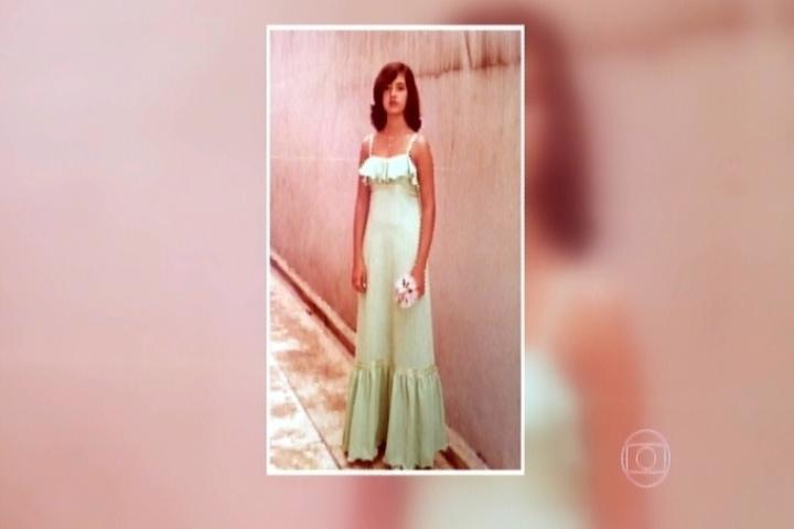 Fátima Bernardes revela foto de quando tinha 16 anos no