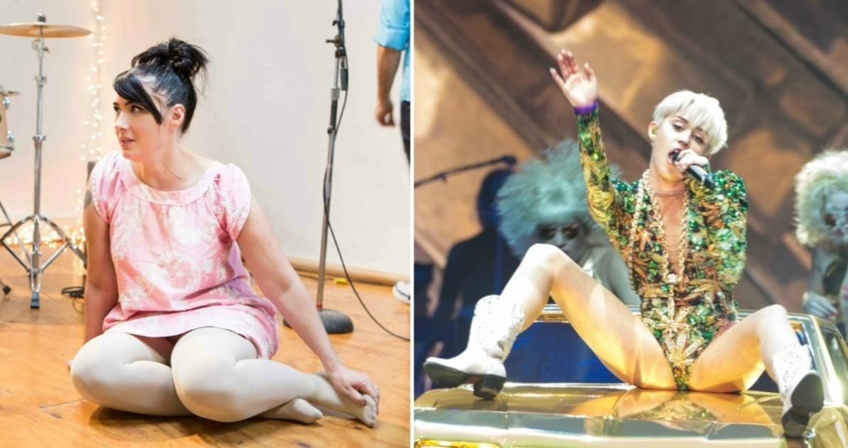 Kathleen Hanna, heronína feminista do punk, quer gravar com Miley Cyrus
