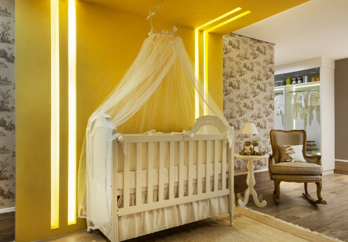 Quarto De Bebe Laranja Com Amarelo ~ Quartos de beb? e crian?a  Casa e Decora??o  UOL Mulher