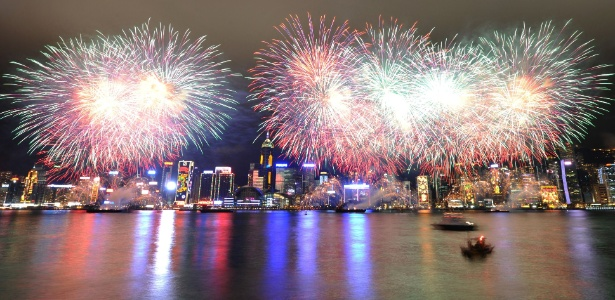 Resultado de imagem para ano novo chines fogos