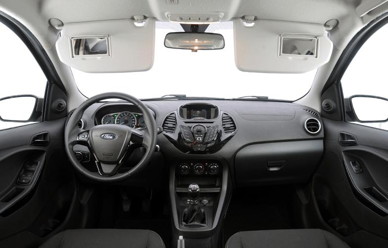 Ka sel 1 5 fotos uol carros - Interior ford ka ...