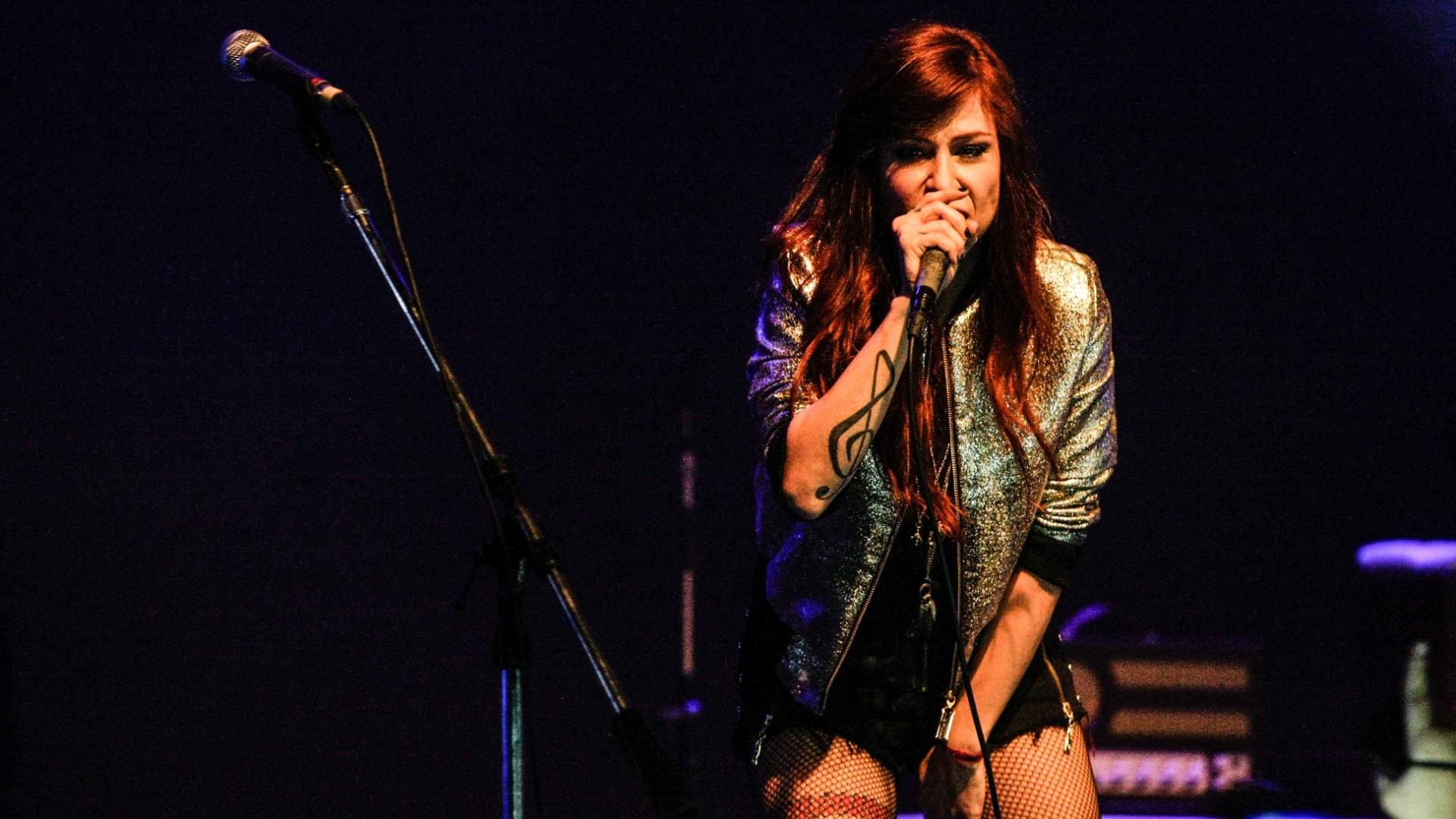 9.ago.2014 - A cantora baiana Pitty apresenta o seu mais novo álbum