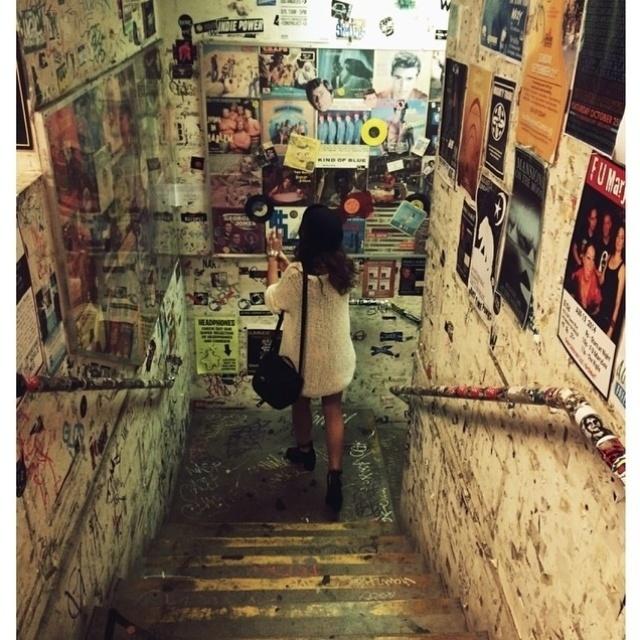 12.ago.2014 - Bruna não perde a oportunidade de conhecer a cidade americana e descobrir vários pontos turísticos interessantes