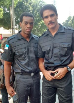 Vinícius Romão viverá policial ao lado de Rafael Calomeni nos cinemas