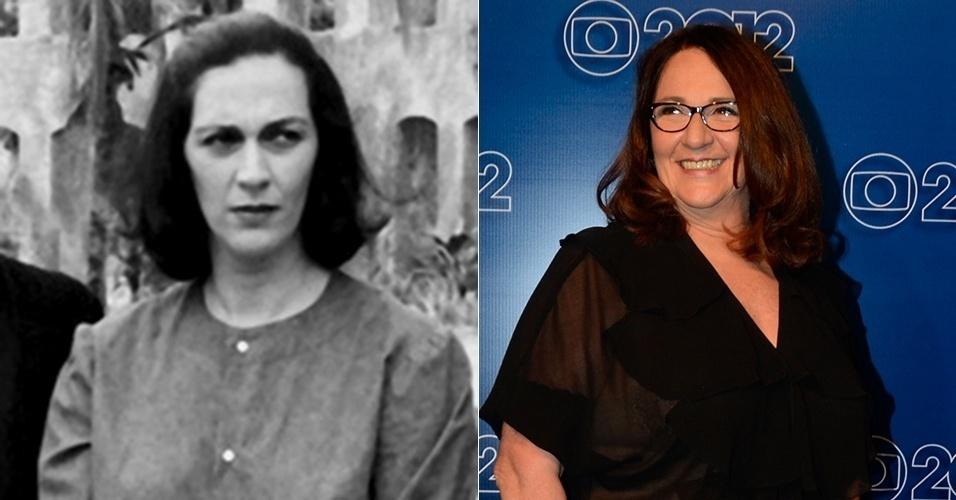 """A solteirona Cinira era a personagem de Rosane Gofman que vivia acompanhando Perpétua (Joana Fomm). Reprimida, só se acalmava quando via Osnar (José Mayer). Depois de """"Tieta"""", a atriz fez """"Pedra Sobre Pedra"""" (1992), """"Fera Ferida"""" (1993) e """"História de Amor"""" (1995), entre tantas outras. Suas últimas novelas foram """"Caminho das Índias"""" (2009), """"Escrito nas Estrelas"""" (2010) e """"Amor Eterno Amor"""" (2012)"""