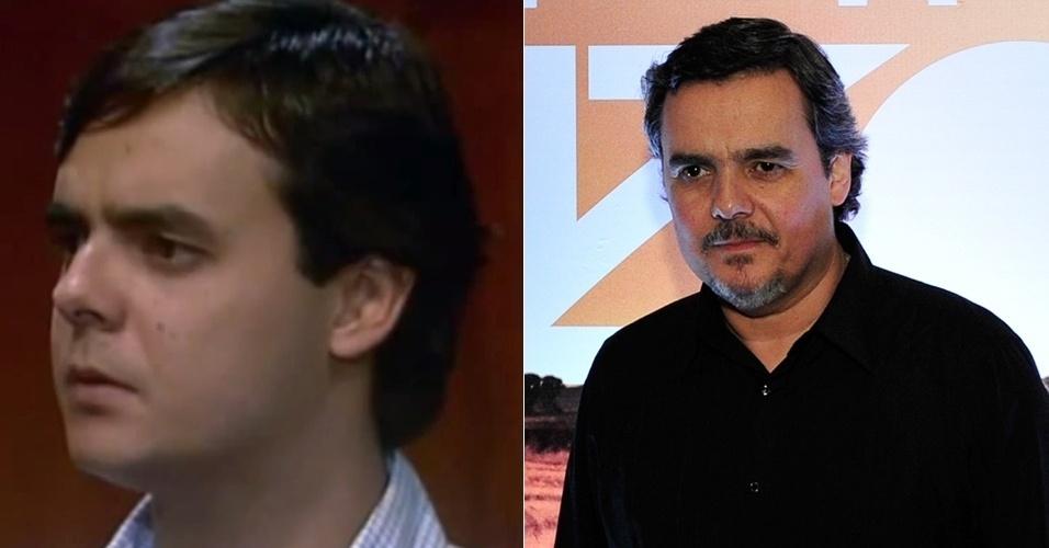 """Cássio Gabus Mendes, era o seminarista filho de Perpétua (Joana Fomm) e sobrinho de Tieta (Betty Faria). Entre suas últimas novelas, fez """"Insensato Coração"""" (2011), """"Lado a Lado (2012) e """"Além do Horizonte"""" (2013)"""
