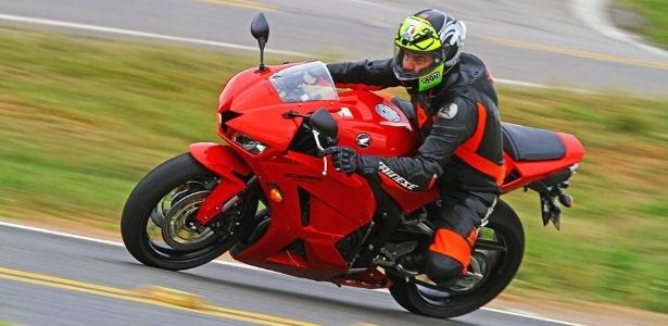 Uma única pastilha de freio da Honda CBR 600 RR custa R$ 300