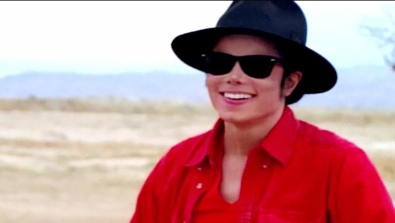 Michael Jackson em cena do clipe