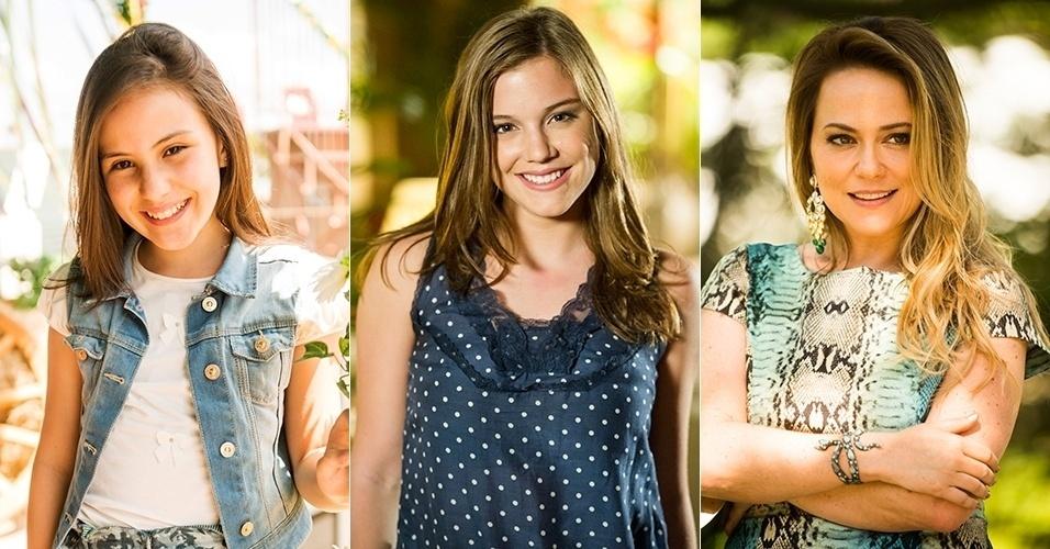 Giovanna Rispoli, Alice Wegmann e Vivianne Pasmanter deram vida à rival de Helena nas três fases da novela