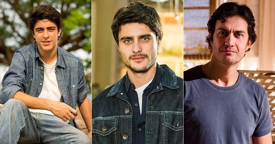 O músico ciumento que tem uma obsessão por Helena foi vivido por Eike Duarte, Guilherme Leicam e Gabriel Braga Nunes na novela
