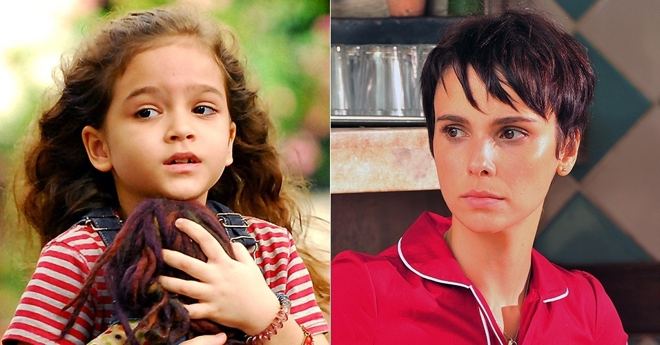 Rita (Mel Maia) foi jogada no lixão pela madrasta perversa nos primeiros capítulos de