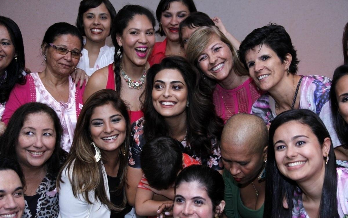 20.ago.2014 - Juliana Paes lançou a campanha