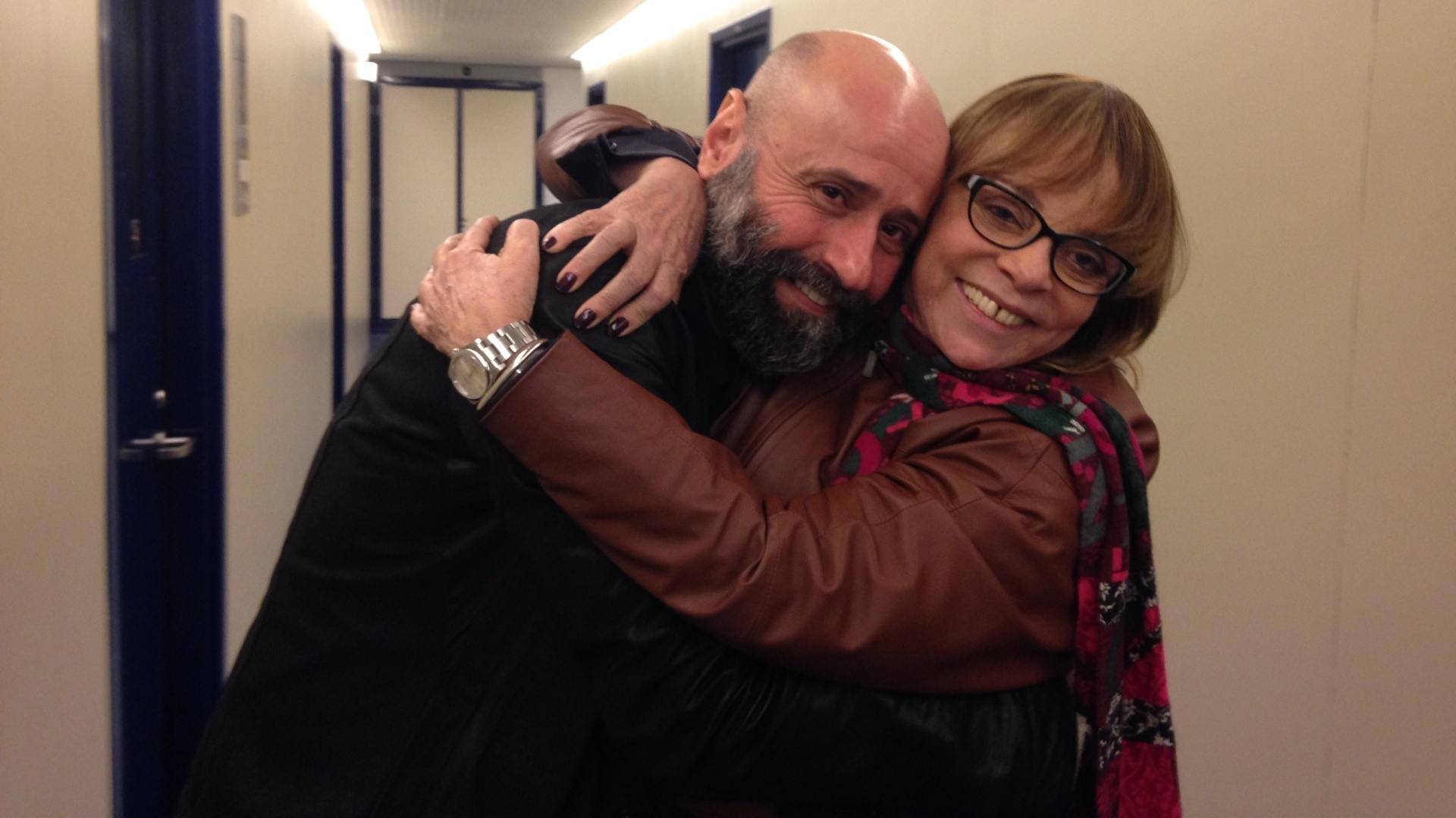 Mauro Mendonça Filho e Glória Perez comemoram copião do primeiro episódio de ?Dupla Identidade?