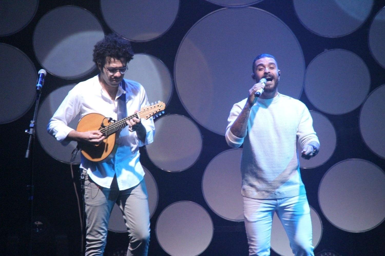 25.ago.2014 - Diogo Nogueira e Hamilton de Holanda lançam o álbum