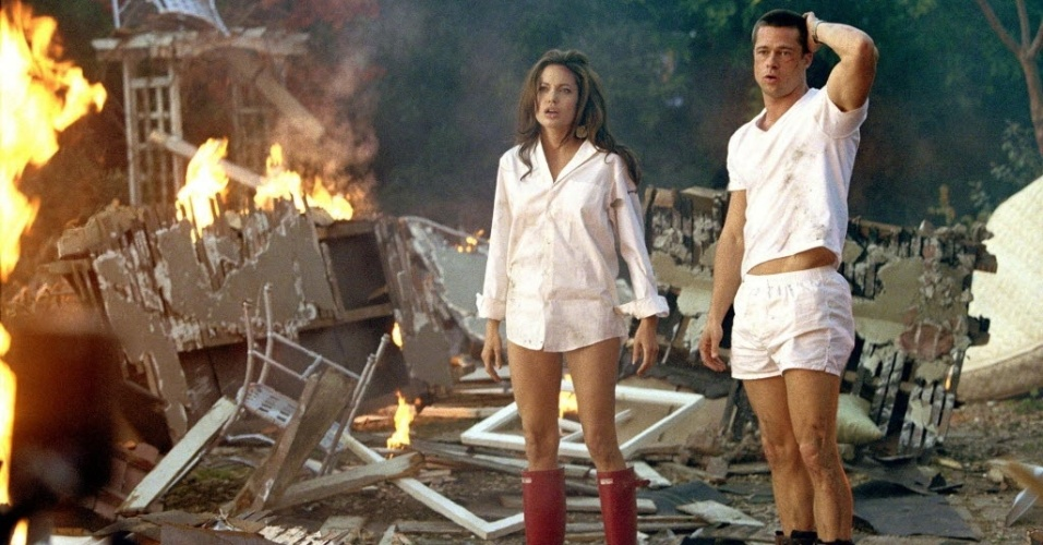 Angelina Jolie e Brad Pitt se conheceram nas filmagens do filme