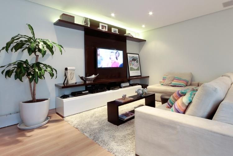 esta sala planejada por Paloma Cardoso tem múltiplas funções, como
