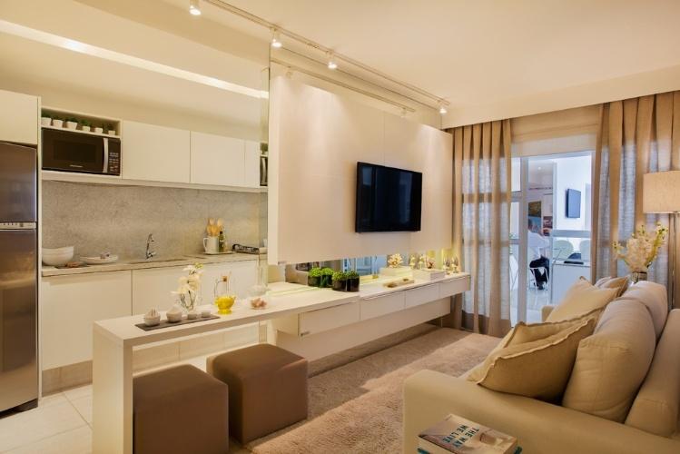 Sem ideias para decorar veja livings compactos e - Decoradora de casas ...