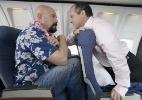Passageiros aéreos rudes tendem a ser homens com pouca experiência de voo - Getty Images