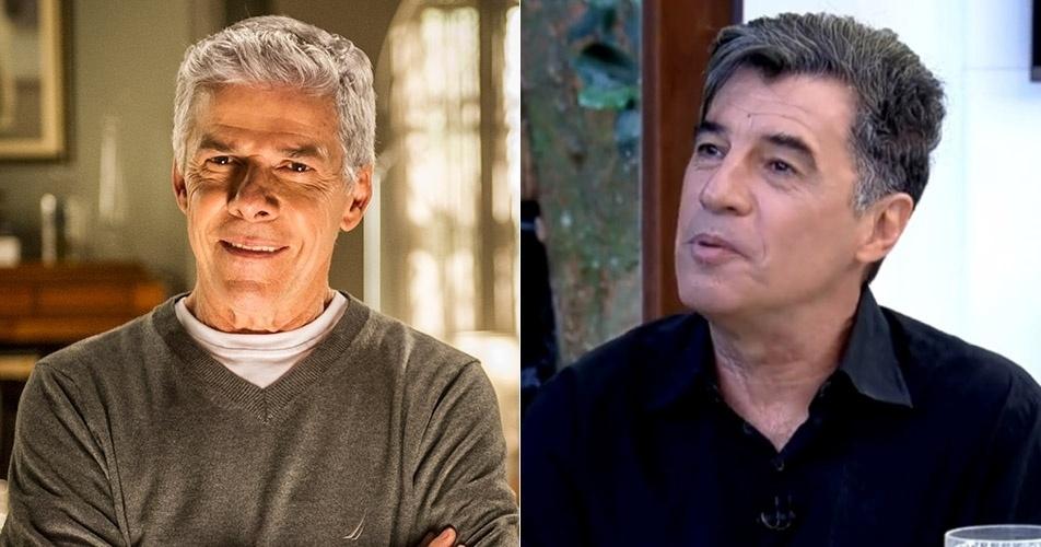 Ao anunciar Paulo Betti como seu convidado, Ana Maria trocou o nome do ator pelo pelo do colega de cena José Mayer, da novela