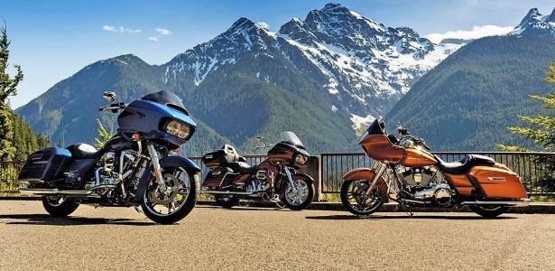 Road Glide, touring para pilotos mais baixos e um novo triciclo são novidades
