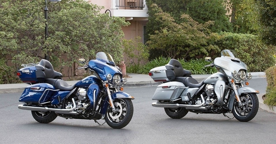 """Harley-Davidson Touring, Electra Glide Ultra Classic e Ultra Limited """"Low"""" 2015"""