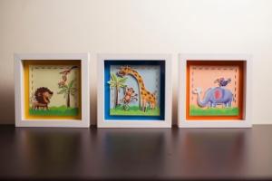 """Aprenda a fazer quadros para o quarto infantil com """"scrapbooking"""" - Leonardo Soares/UOL"""