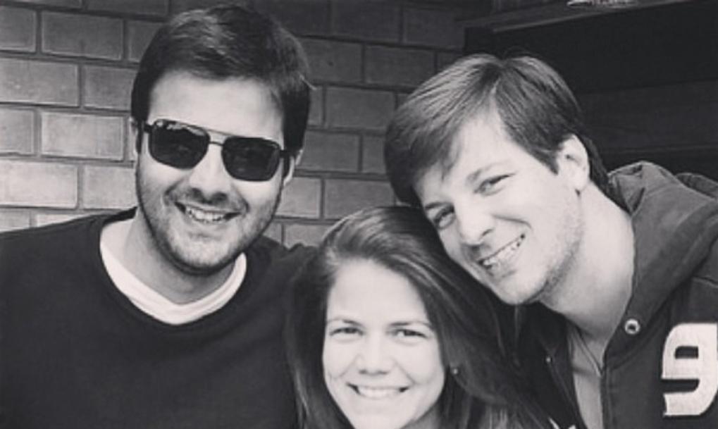 5.ago.2014 - Nivea Stelmann dedica mensagem de carinho aos irmãos Rafael e Francisco no Instagram: