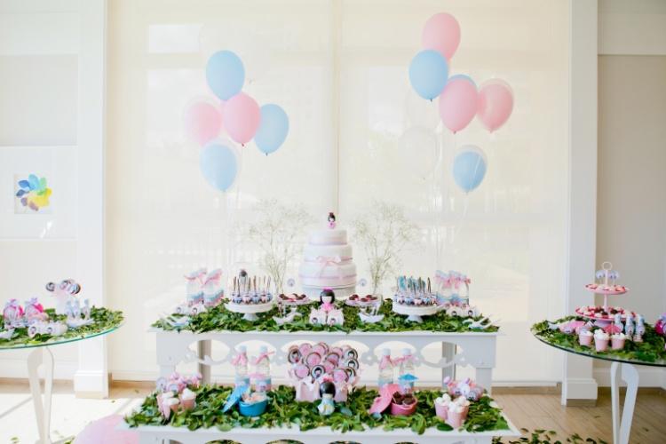 decoracao festa kokeshi: oriental e delicado à festa de aniversário – BOL Fotos – BOL Fotos