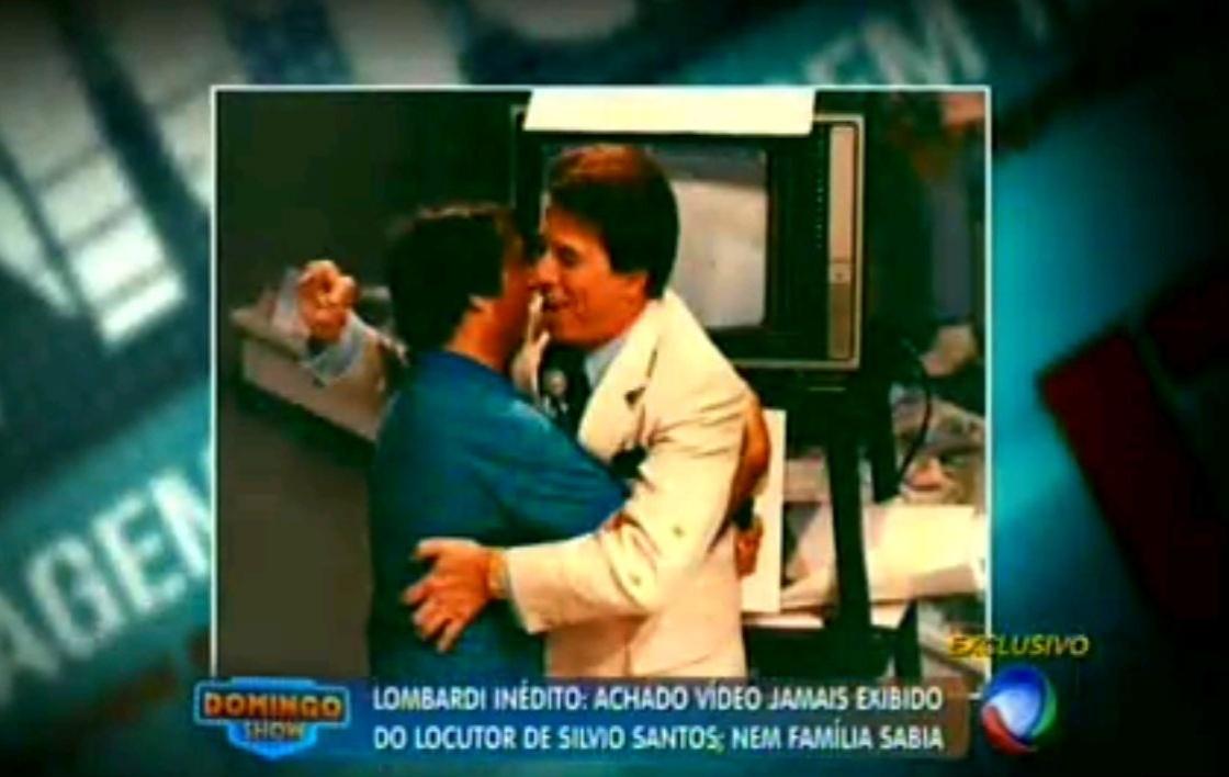 7.set.2014 - Lombardi e Silvio Santos