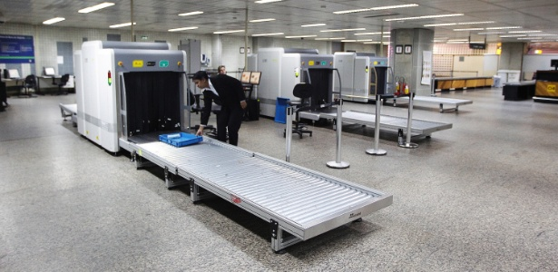 Imagens Raio Aeroporto : Ministério público investiga falta de raio em bagagens