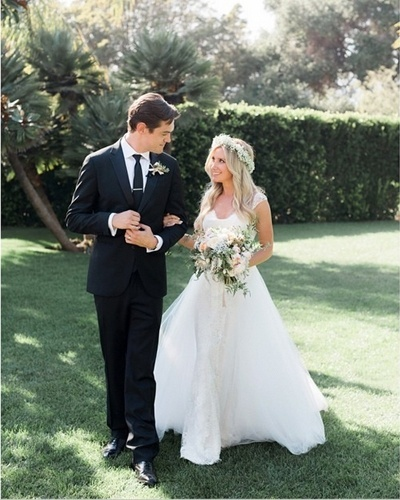 9.set.2014 - Casamento Ashley Tisdale