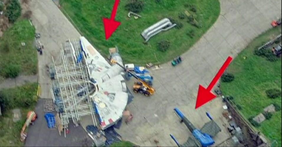 Piloto flagra naves de novo star wars no interior da inglaterra not cias uol cinema - Piloto photo studio ...