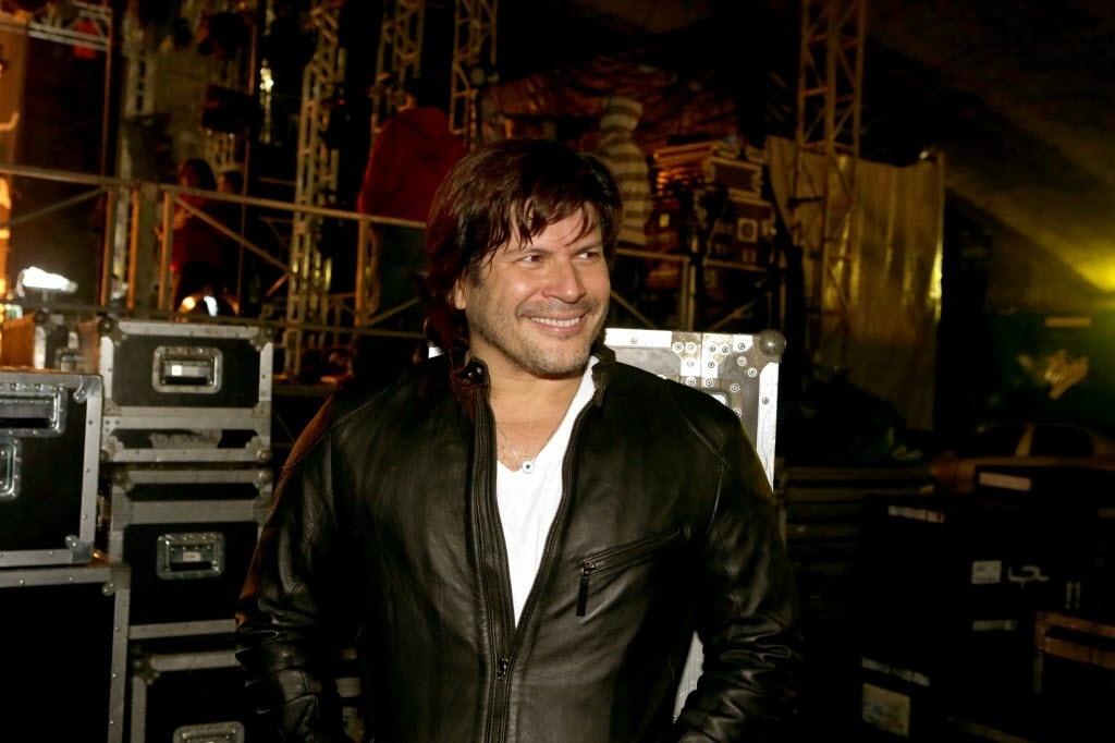 11.mai.2014: O cantor Paulo Ricardo, da banda RPM, durante o Festival CCBB de Música Urbana, no Vale do Anhangabaú, em São Paulo