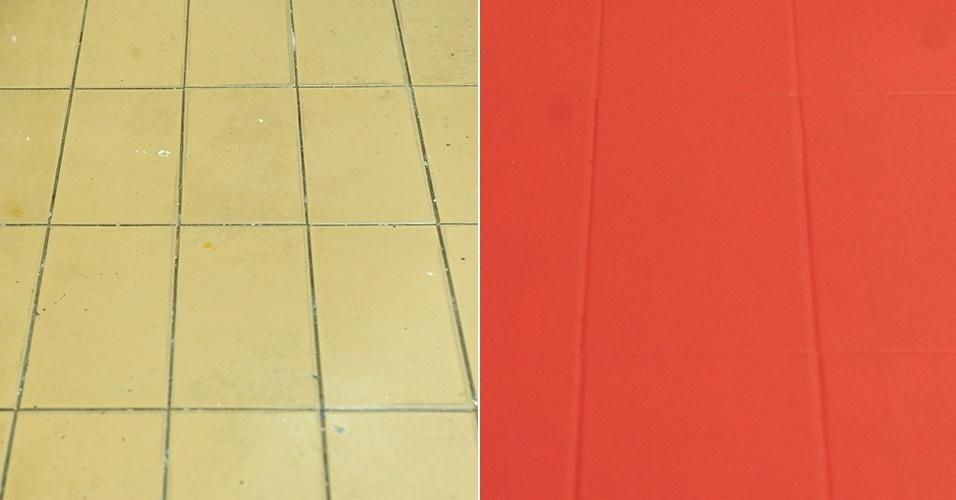 An1 pintura para pisos de ceramica cemento ba os y cocinas - Pintura para pintar piso de cemento ...