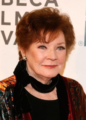 21.abr.2012 - Polly Bergen marca presença no Festival de Cinema de Tribeca