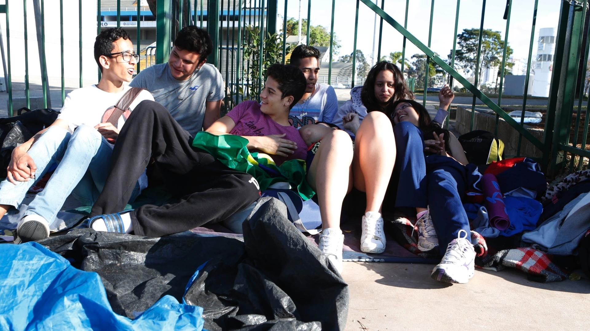 22.set.2014 - Na semana passada, a Guarda Civil Metropolitana atendeu a uma denúncia do próprio Anhembi para que as barracas e menores de 18 anos fossem retirados do local