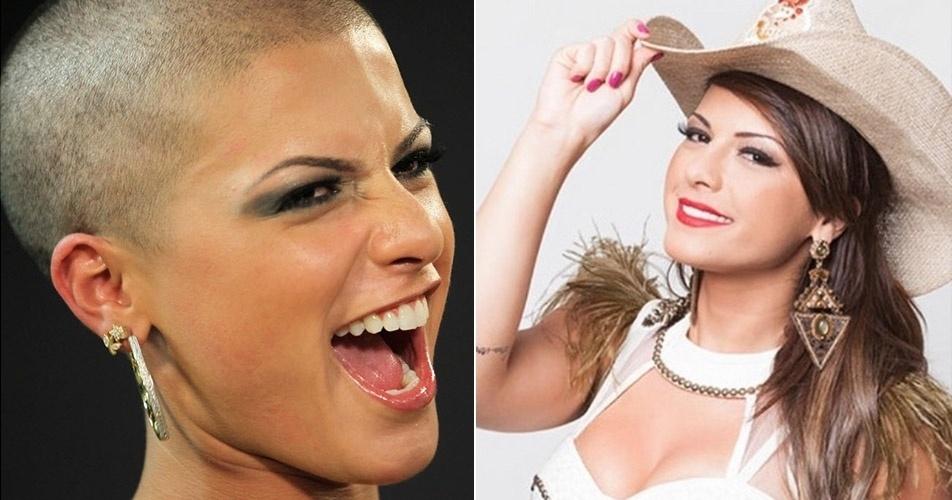 """A modelo Babi Rossi ficou famosa como assistente de palco do programa """"Pânico"""", na Band. Em 2012, a ex-Panicat causou polêmica por raspar o cabelo ao vivo no palco da atração em uma brincadeira de mudança de visual com sugestões dos telespectadores"""