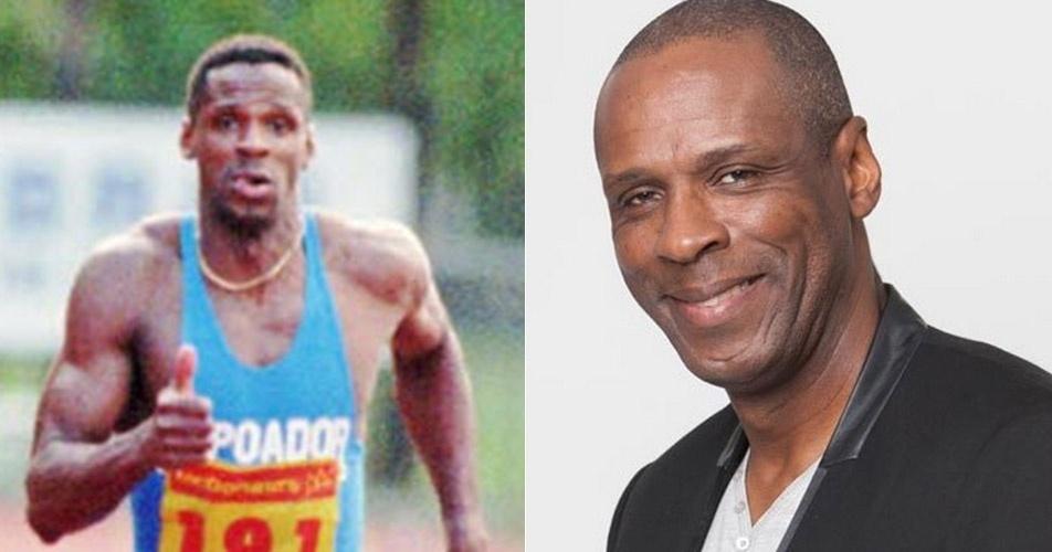 Robson Caetano: Participou de quatro Olimpíadas, ganhando um bronze nos 200 metros rasos, em Seul 1988 e outro bronze no revezamento 4x100 m, em Atlanta 1996