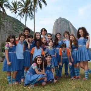"""Elenco de """"Chiquititas"""" no Rio"""