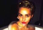 """""""Peitos de discoteca"""", provoca Miley Cyrus ao postar foto nua no Instagram - Reprodução/Instagram/mileycyrus"""