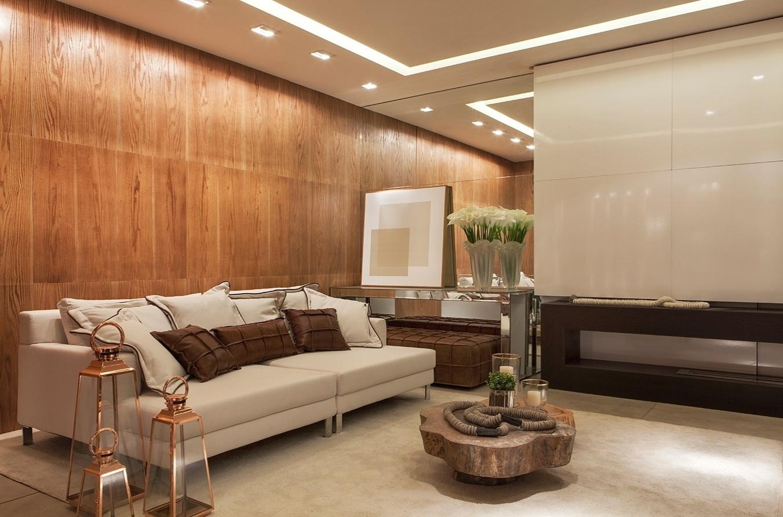 Para o Flat das Montanhas, o arquiteto Sérgio Palmeira projetou uma iluminação mais