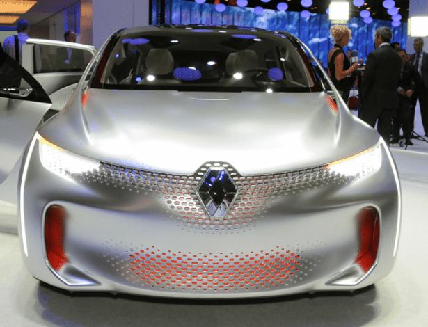 """Renault EOLab Concept ousou com """"pedras"""" de LED espalhados pela dianteira e prometia fazer 50 km/l; qual será a aposta das marcas locais desta vez?"""