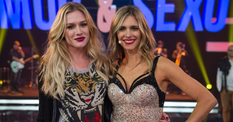 """3.out.2014 - Fiorella Mattheis está entre os convidados de Fernanda Lima, na volta do """"Amor & Sexo"""""""