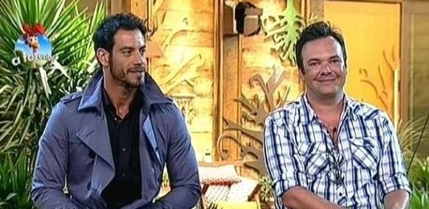 """Diego Cristo e Felipeh Campos em noite de roça em """"A Fazenda 7"""""""