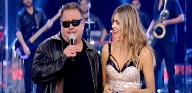 """Leo Jaime e Fernanda Lima na temporada de """"Amor & Sexo"""" de 2014"""