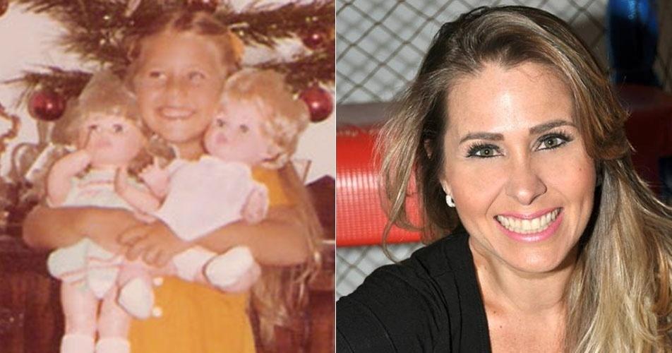 Andréia Sorvetão não mudou muito com o passar dos anos. O sorriso é o mesmo!