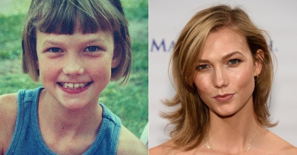 Modelos crianças - Karlie Kloss