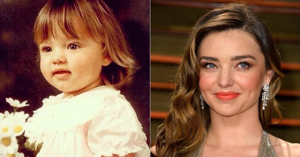Modelos crianças - Miranda Kerr